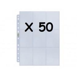 50X UP - SILVER PAGINAS DE 9-BOLSAS (CADA) DISPLAY
