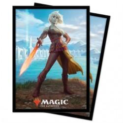 UP - Standard Deck Protectors - Magic: The Gathering Zendikar V2 (100 Sleeves)