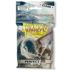 Standard Perfect Fit Sleeves - Clear/Clear (100 Sleeves)