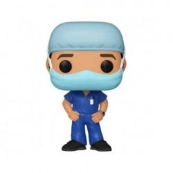 Heroes - POP! Front Line Worker Male Farda Azul