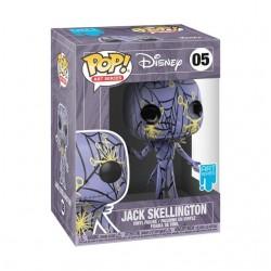 Disney - Nigthmare before Christmas POP! Jack Skellington ART SERIES WITH CASE