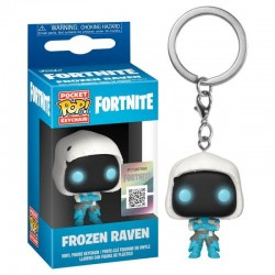 Fortnite POP! Keychain Frozen Raven