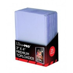 """copy of Ultra Pro 3"""" X 4"""" Red Border Toploader"""