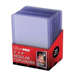 "Ultra Pro 3"" X 4"" Clear Regular Toploader"