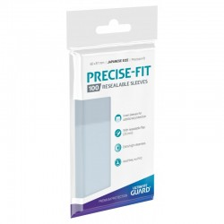 Precise-Fit Resealable Sleeves Japanese Size
