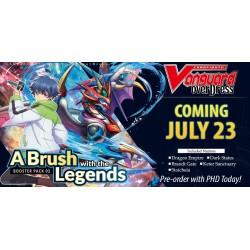 Vanguard - A brush with the legends- Booster display
