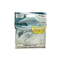 Perfect Fit Sideloader Sleeves Standard - Clear
