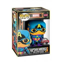 Marvel POP! Captain America Special Edition Blacklight
