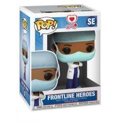 Heroes - POP! Front Line Worker Female Blue SE
