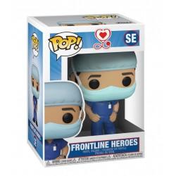 Heroes - POP! Front Line Worker Male Blue SE