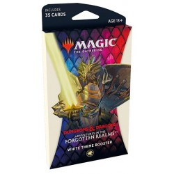 Adventures of the Forgotten Realms - Theme booster - White