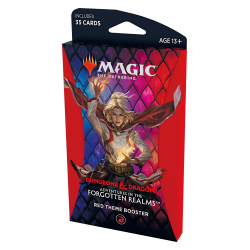 Adventures of the Forgotten Realms - Theme Booster - Red