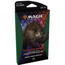 Adventures of the Forgotten Realms - Theme Booster - Green
