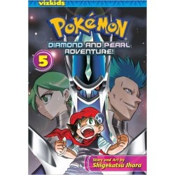 Pokémon Diamond and Pearl Adventure Volume 5 ING