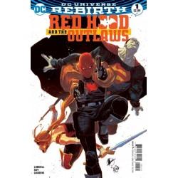 Red Hood and the Outlaws - DC Universe Rebirth - Volume 1 Edição Variante
