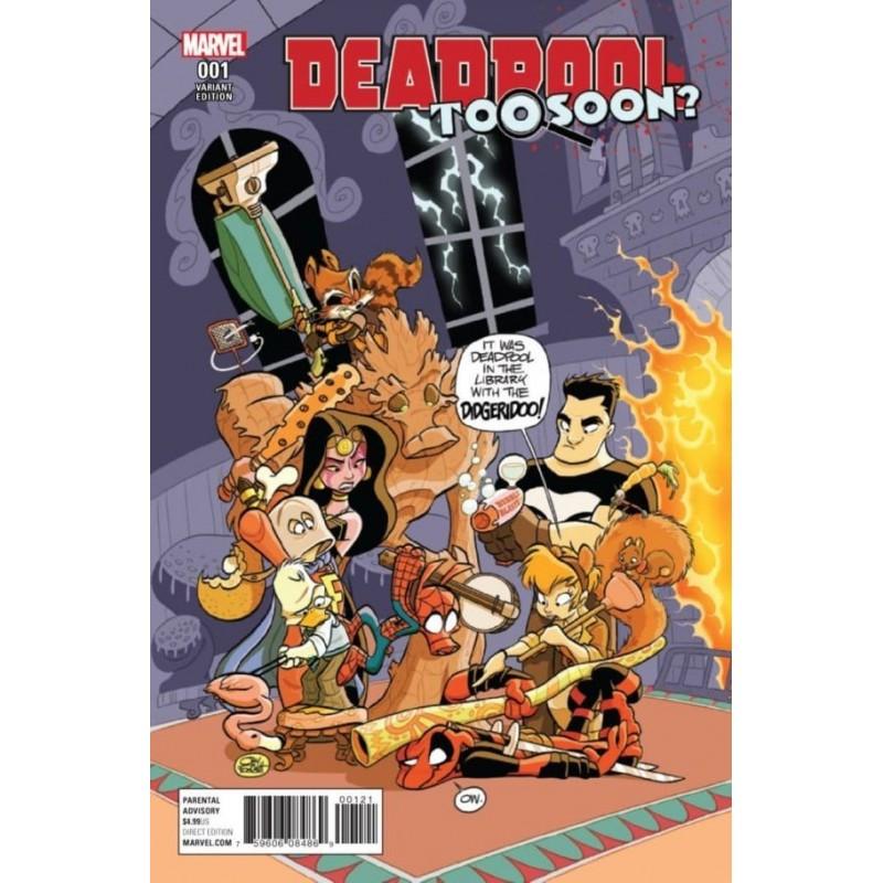 Deadpool Too Soon? - Marvel - Volume Edição Variante