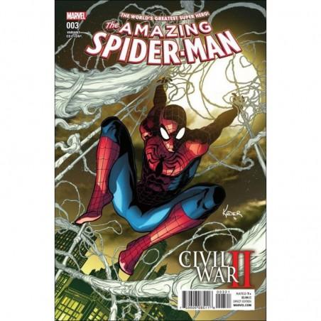 Amazing Spider-Man Civil War II - Marvel - Volume 3 Variant Edition