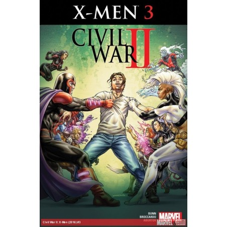 X-Men - Marvel Civil War II - Volume 3