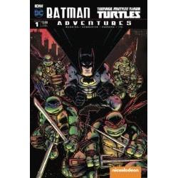 Batman TMNT Adventures - DC/IDW - Volume 1 Edição Variante