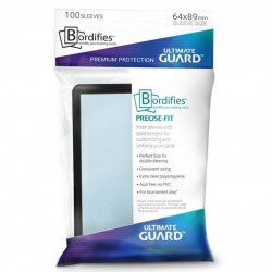 Bordifies™ Precise-Fit Sleeves Standard Size Black (100)
